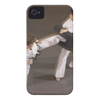 People practicing Tae kwon do iPhone 4 Case-Mate Case