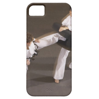 People practicing Tae kwon do iPhone 5 Cases