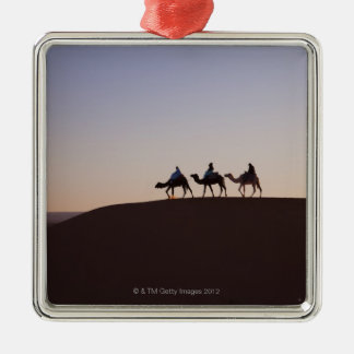 People riding camels, Morocco Christmas Ornament