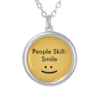 People Skill Smile Necklace