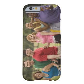 People smiling barely there iPhone 6 case