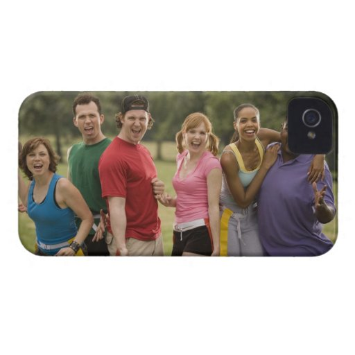 People smiling iPhone 4 covers