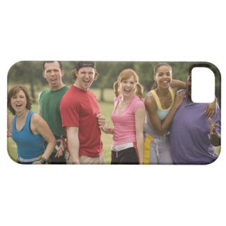 People smiling iPhone 5 case