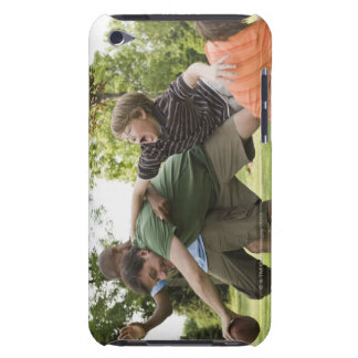 People tackling while playing football Case-Mate iPod touch case