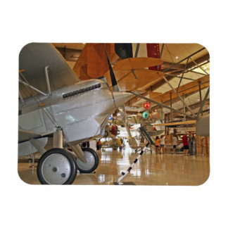 People touring National Museum of Naval Aviation Rectangular Photo Magnet