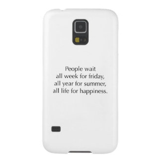People Wait Galaxy S5 Cases