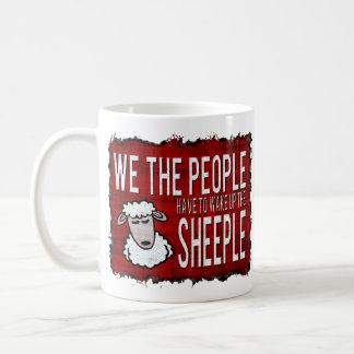 People Wake up Sheeple Coffee Mug