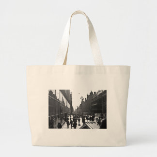 People Watching Canvas Bag