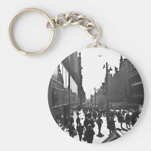People Watching Keychains