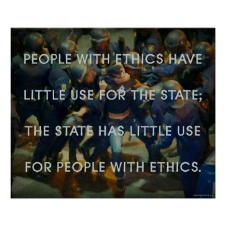 People With Ethics Poster