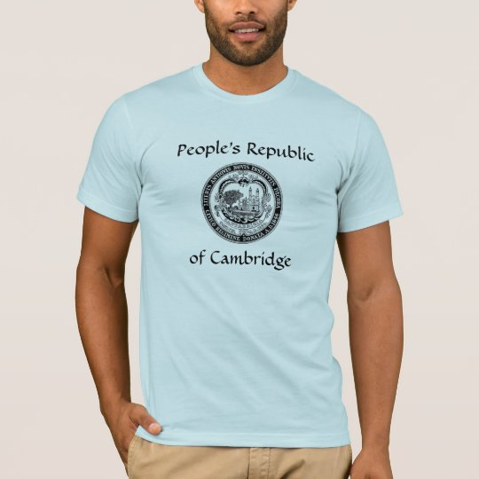 People's Republic of Cambridge MA t-shirt