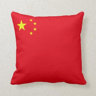 Peoples Republic of China Flag (corner) Throw Cushion