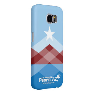 Peoria Flag Galaxy 6 Phone Case