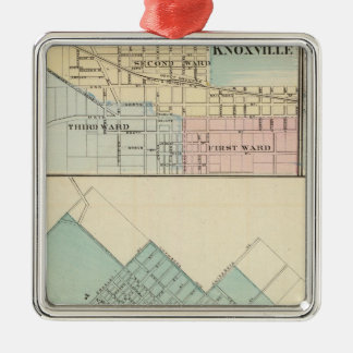 Peoria, Oneida, Knoxville and Dallas Christmas Ornament