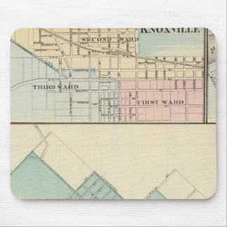 Peoria, Oneida, Knoxville and Dallas Mouse Pad