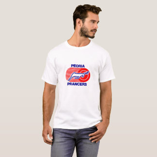 Peoria Pacers Retro Hockey T T-Shirt