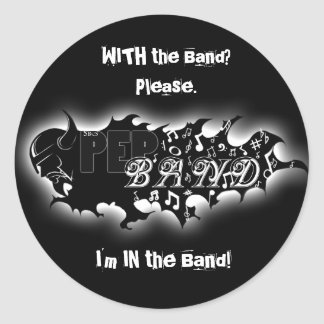 Pep Band 6 Stickers
