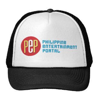 """PEP Classic"" Black Trucker Hat"
