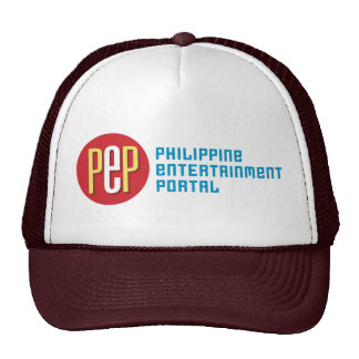 """PEP Classic"" Brown Trucker Hat"