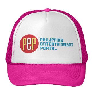 """PEP Classic"" Pink Trucker Hat"