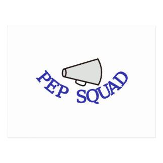 Pep Squad Postcard