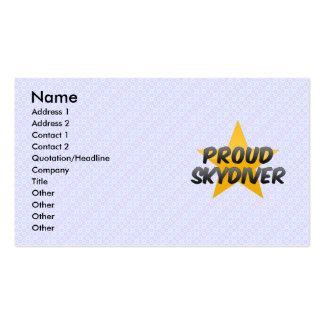 Pep, Texas Business Card Template