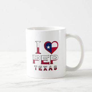 Pep, Texas Coffee Mugs