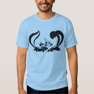 Pepe Le Pew and Penelope 4 Tshirts