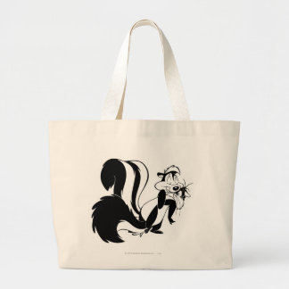 Pepe Le Pew and Penelope Bags