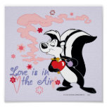 Pepe Le Pew Love is in the Air Posters