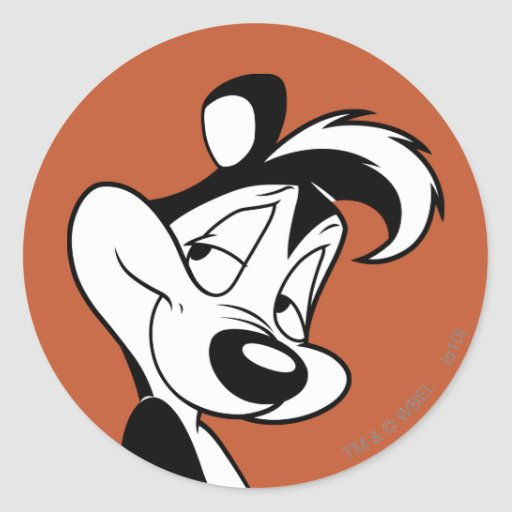 Pepe Le Pew - Smirking Stickers