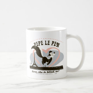 Pepe Love, She Is Blind, No? Coffee Mug