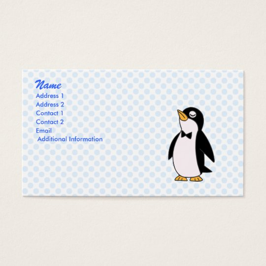 pepe penguin business card