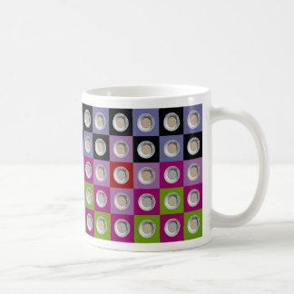 pepita 5x13 collage basic white mug