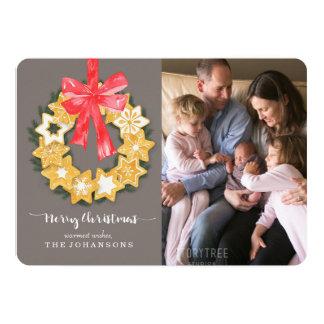 Pepparkakor Christmas Photo Card