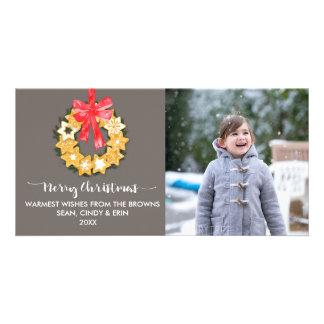 Pepparkakor Christmas Photo Customized Photo Card