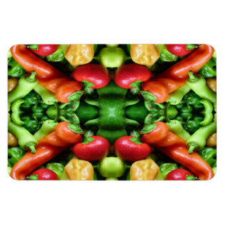 Pepper as Art - Spicy Abstract Flexible Magnet