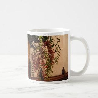 Pepper Berries Basic White Mug