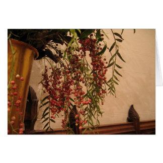 Pepper Berries Card