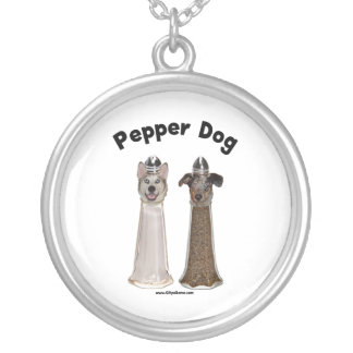 Pepper Dog and Salty Dog Custom Necklace