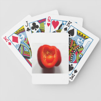 Pepper growth bicycle playing cards