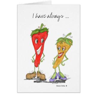 Pepper Love Card