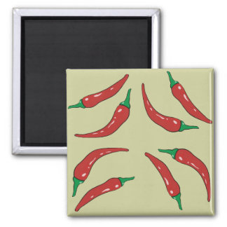 pepper pattern, cookery magnet
