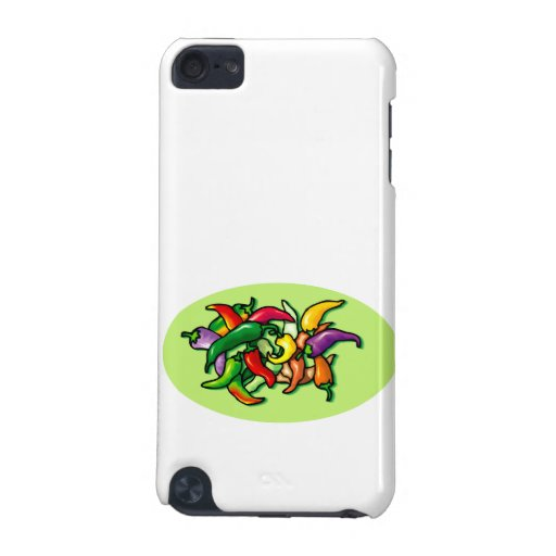 Pepper Pile Graphic Colorful design iPod Touch (5th Generation) Covers