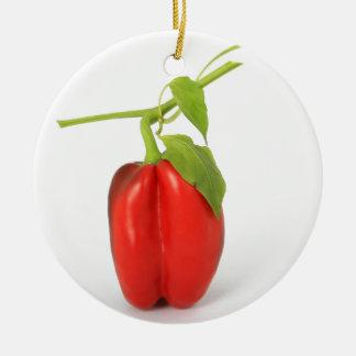 Pepper Round Ceramic Decoration