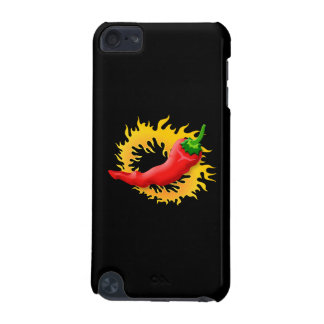 Pepper with flame iPod touch 5G cases