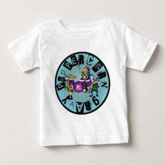 Peppercorn Gravy - Full Band Logo (Blue) T-shirt
