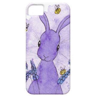 Peppermint Art Lavender Bunny I Phone Case