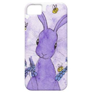 Peppermint Art Lavender Bunny I Phone Case