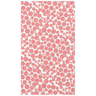 Peppermint Candy Background Tablecloth